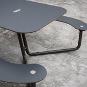 Handicapvenligt bord-/bænkesæt