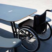Kørestol- og handicapvenligt bord