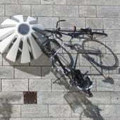 Cykelparkering i Jello