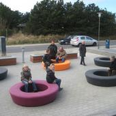 Cirkulær Loop møbel